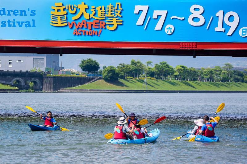 河域-輕艇趣味競賽  年度:2018  來源:宜蘭縣政府文化局
