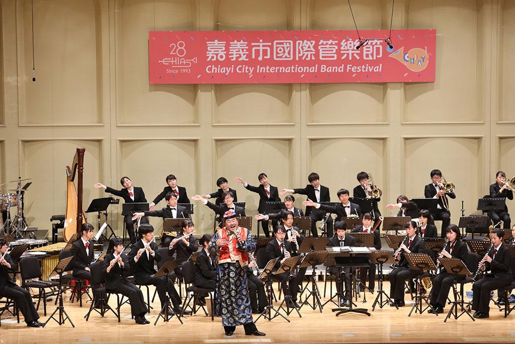 由日本靜岡大學管樂團帶來精彩演出  年度:2019  來源:嘉義市政府