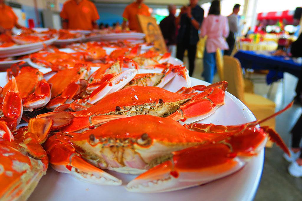 美味萬里蟹-三點蟹  年度:2018  來源:新北市政府漁業及漁港事業管理處