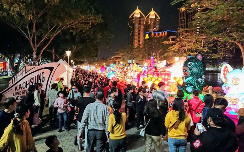 全國創意花燈競賽區  年度:2020  來源:高雄市政府觀光局
