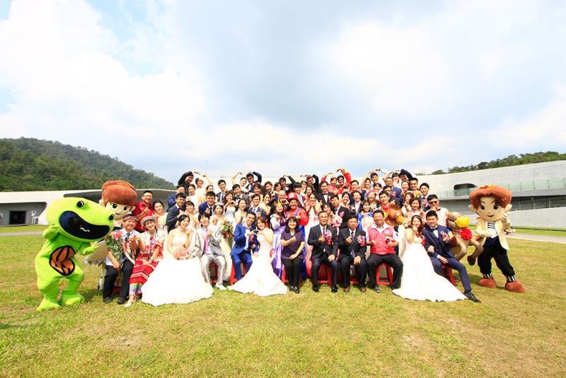 日月潭婚禮  年度:2019  來源:日月潭國家風景區管理處