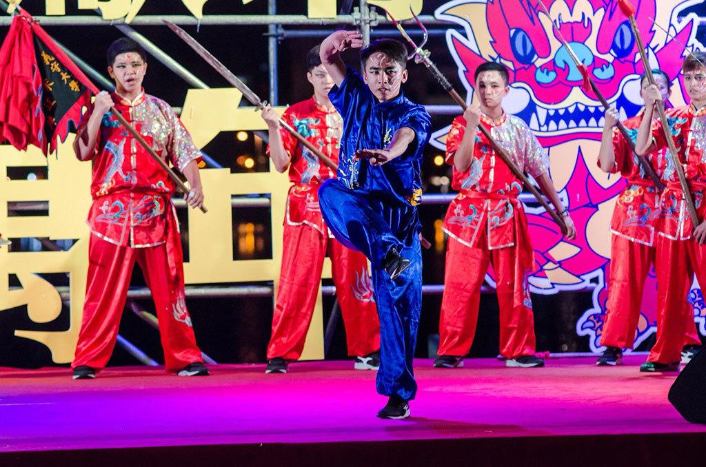 台客舞是左營萬年季組成元素之一  年度:2018  來源:高雄市政府民政局