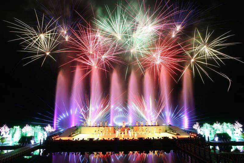 2016-2019連續4年以不同主題之奇萊傳說-山水實境秀,融合花蓮在地文化。  年度:2018  來源:花蓮縣政府