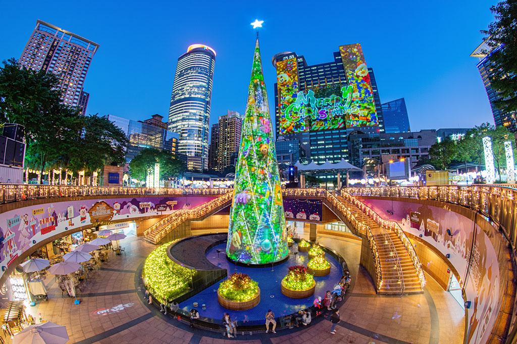 光雕展演-Merry Christmas  年度:2019  來源:新北市政府觀光旅遊局