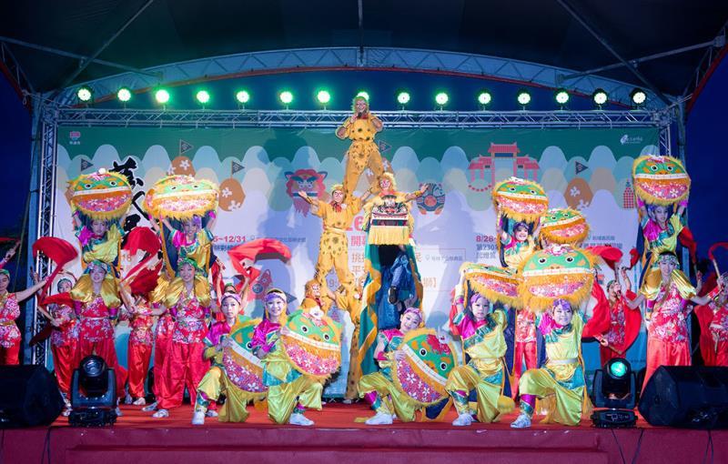 築夢舞集演出-下山祭典區晚會  年度:2018  來源:新竹縣政府文化局