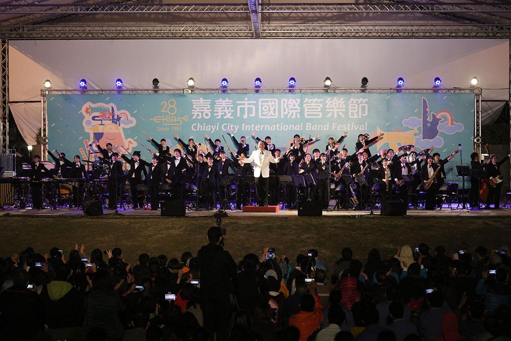 戶外音樂會盛大演出  年度:2019  來源:嘉義市政府