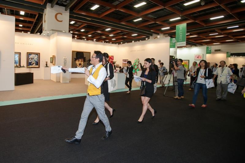 ART TAIPEI 2015 現場媒體導覽