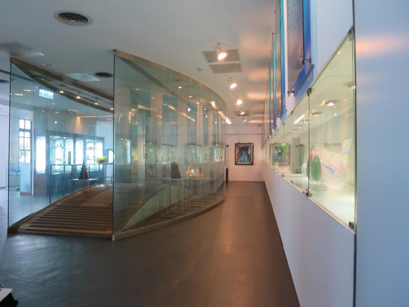 玻璃工藝博物館2樓工藝之美區