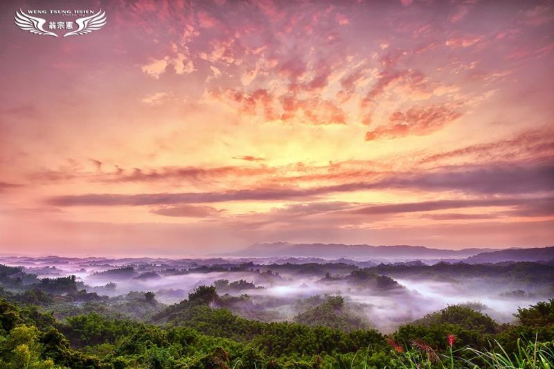 攝影人必拍日出聖地 左鎮二寮最美麗的曙光雲海