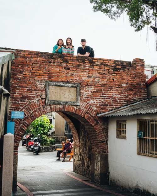 La Puerta Duiyue es la única puerta de la ciudad amurallada de Tainan que todavía está en uso.