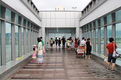 第二航廈(國內線)3F觀景台
