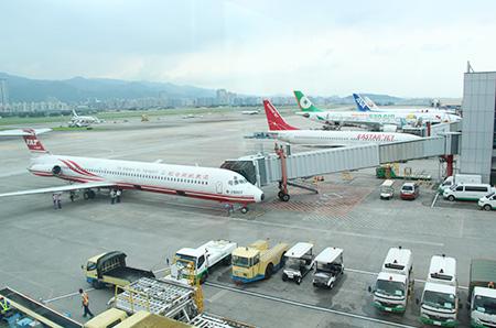 第二航廈(國內線)3F觀景台景觀