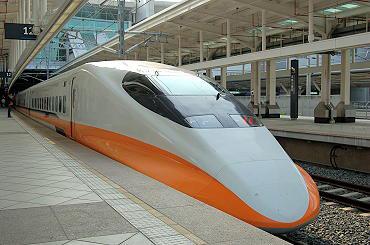 臺灣高鐵流線時尚外型