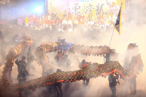 Dragón (echando fuego) en Miaoli