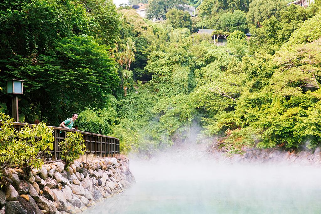 Área de aguas termales de Yangmingshan