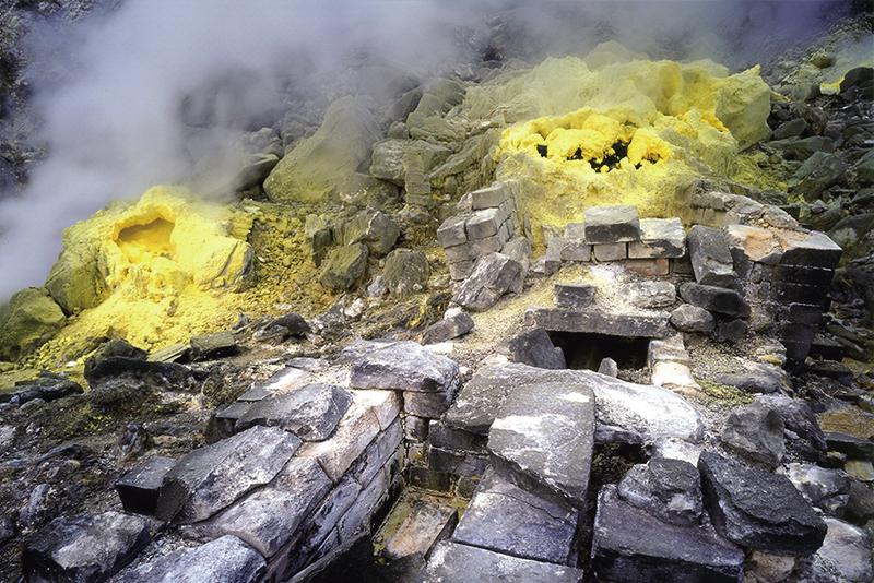 Valle del azufre de Gengziping