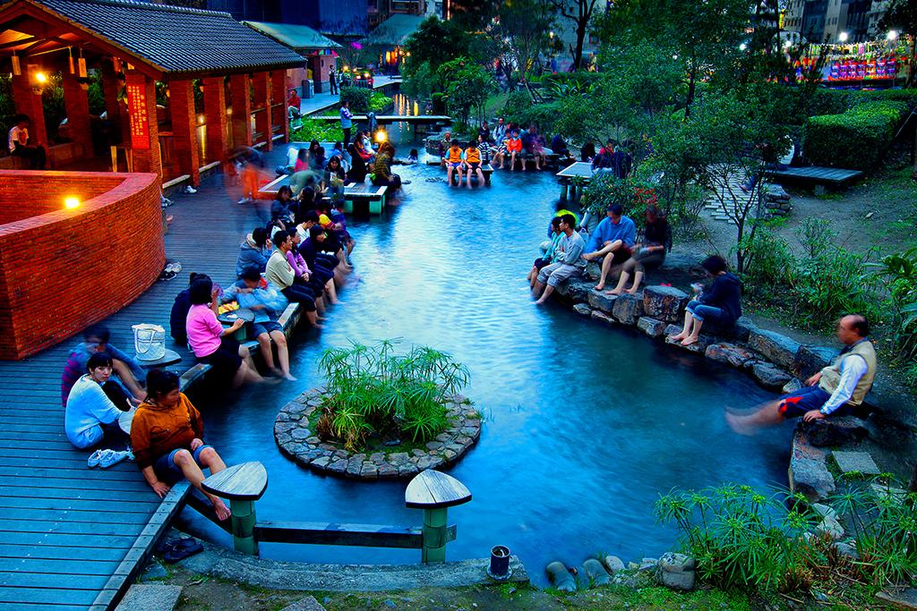 Parque de aguas termales de Jiaoxi