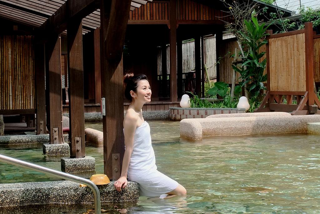 aguas termales de Jiaoxi