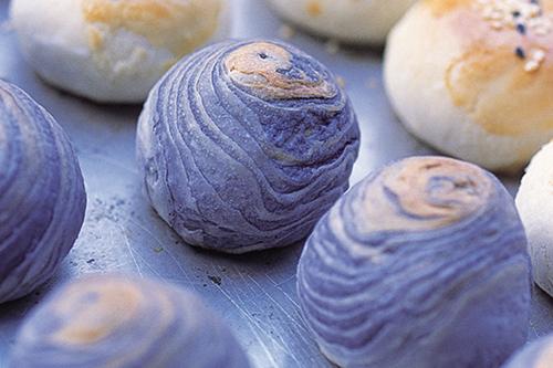 Pastelitos de taro