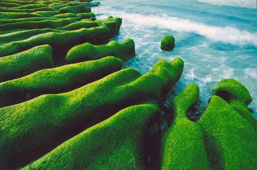 Arrecife verde de Laomei