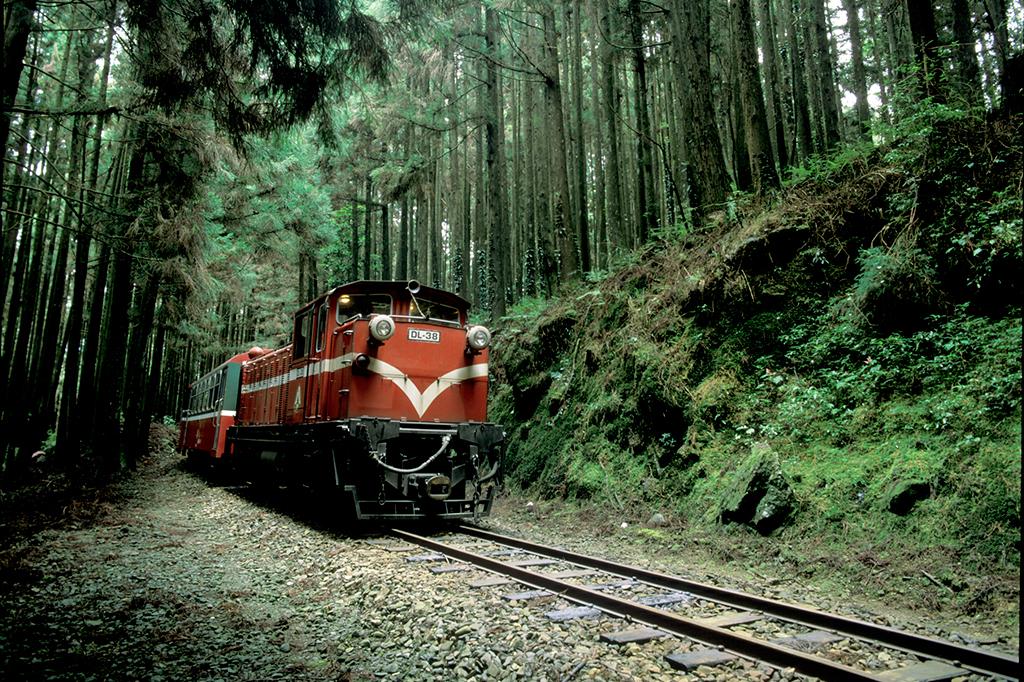 Ferrocarril forestal de Alishan