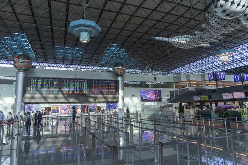 機場第二航廈出境大廳