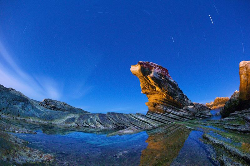南雅風化石