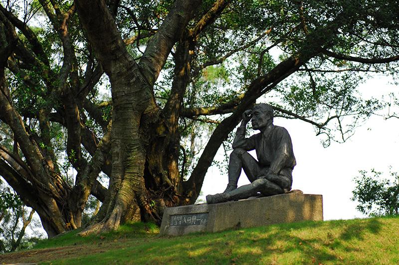 烏山頭水庫-八田與一紀念銅像
