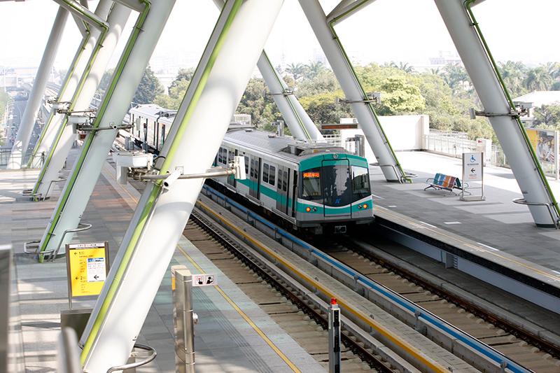 Coches del metro de Kaohsiung