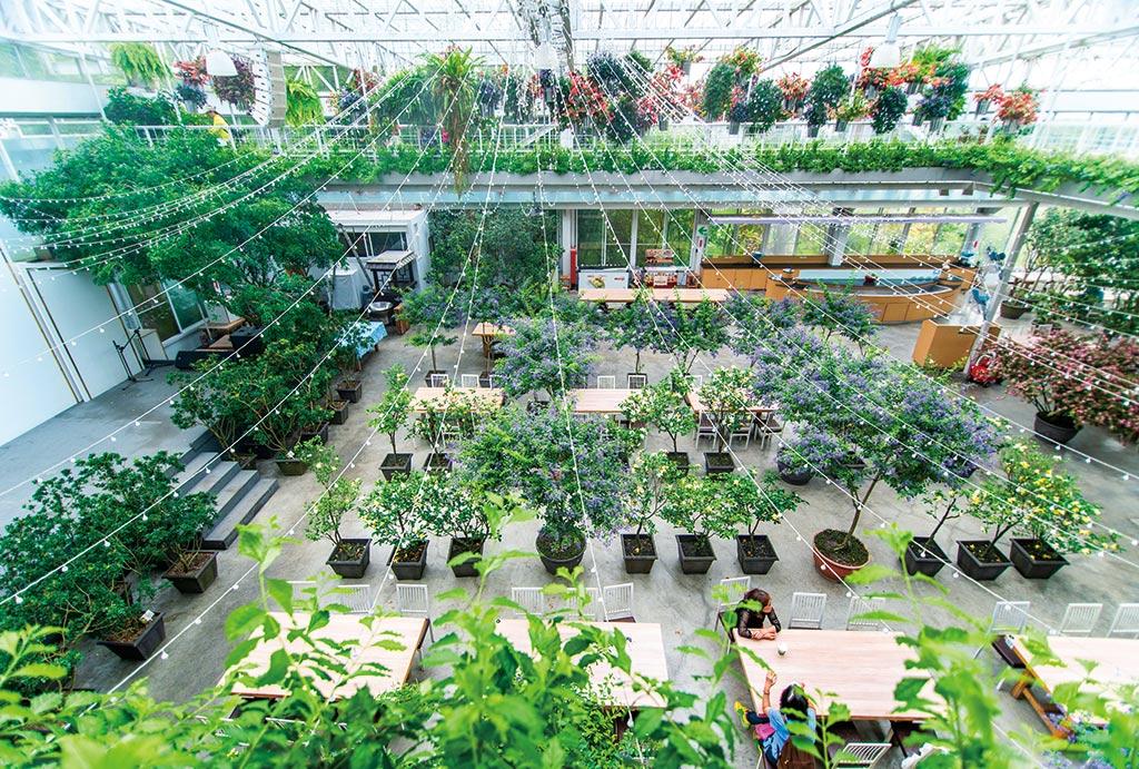 Invernadero del Jardín Artemisa