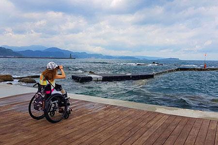 香港輪椅族北海岸一日遊 驚嘆基隆真美
