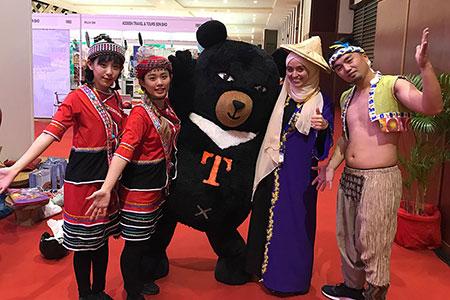 2018馬來西亞旅展 台灣搶攻穆斯林市場