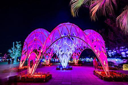 台灣之「光」-台灣燈會作品珊瑚之心 獲義大利國際設計大獎提名