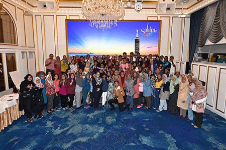 開拓穆斯林市場 臺灣觀光代言人蜜拉菲爾莎 號召百位粉絲齊來臺