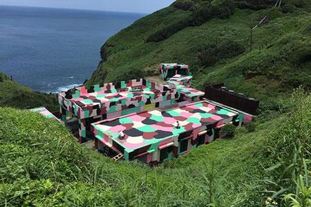 台灣東北角打卡新熱點 「聽濤營區」限時開放