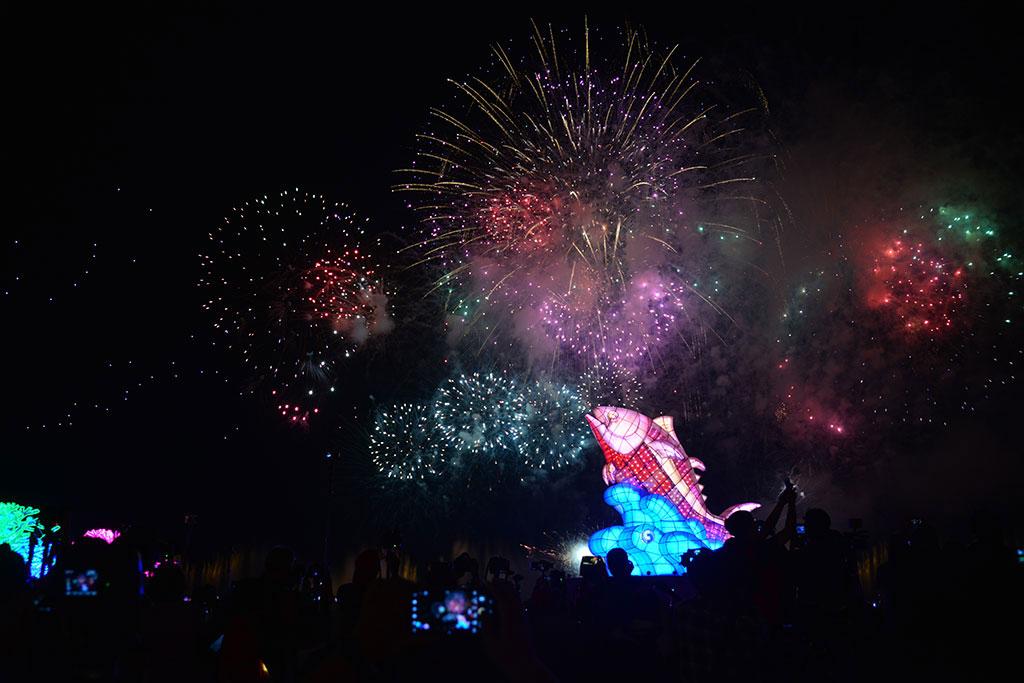 2019台灣燈會在屏東 陸海空視覺體驗閃耀大鵬灣