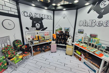台灣小鎮款款行主題展即日起登場 首推喔熊夢工場