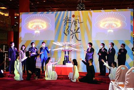 乘風逐光~2021台灣燈會在新竹 創新科技賞燈饗宴