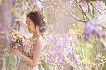 2021好浪漫~星光下婚禮 紫藤花下的祝福