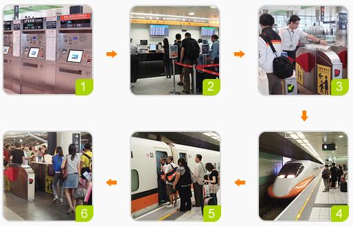 高鐵購票流程