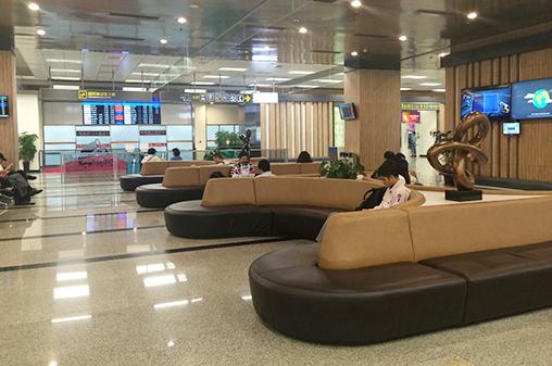 第一航廈(國際線)入境大廳休憩區